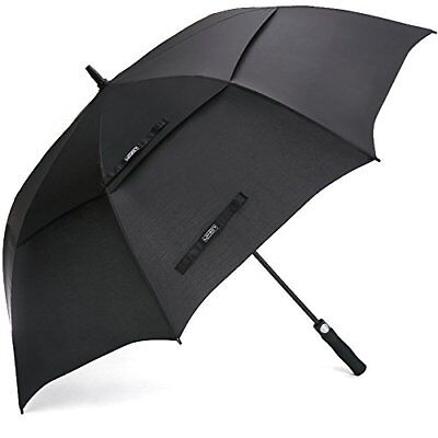 G4Free Golf Umbrella 68 Inch Windproof Double Canopy Vented Extra Large ...