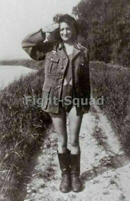 WW2 Picture Photo Sleeping with the enemy Collaborator Girls 2744
