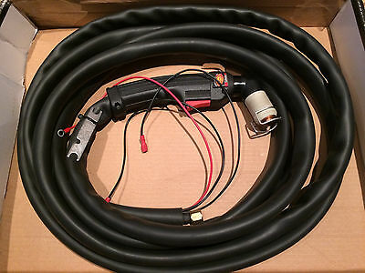 Trifamet 90A Plasma Cutting Torch PA109 Hand Torch c/w 6m Cables M14x1 Metric