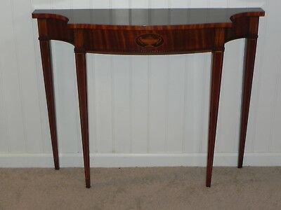 Councill Craftsman Federal Mahogany Console Table