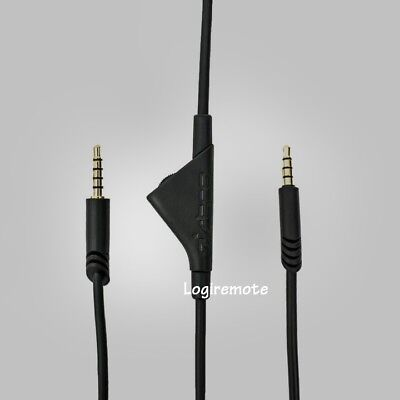 ASTRO A10/A40 Inline Volume Control Cable/Console QD Cable