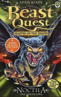 Beast quest: Noctila the death owl: Series 10 Book 1 by Adam Blade (Paperback /