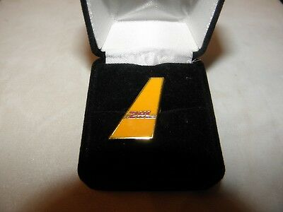 Dhl Air Freight Airline Lapel Tack Pin Airplane Pilot Christmas / Fathers Day