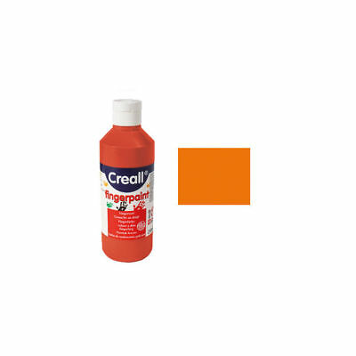NEU Fingermalfarbe 250ml, Orange PREISHIT