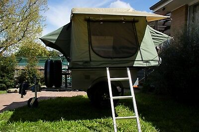 Heavy Duty Camper Trailer