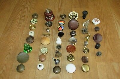 Vintage Antique Cabinet Knobs-Metal-Wood-Bakelite-Plastic-Porcelain #2994