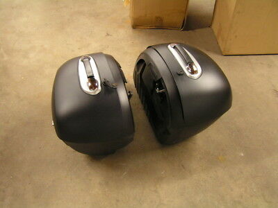 BMW R1200C Saddle Bags Luggage Case with Mount Brackets