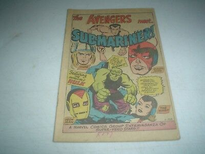 AVENGERS(1964) # 3 COVERLESS But Complete