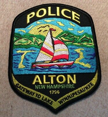 NH Alton New Hampshire Police Patch (New)