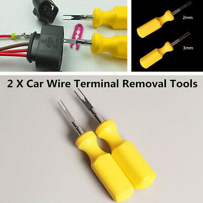 2X CAR TERMINAL Removal Tool Wire Connector Pin Release Puller For ...