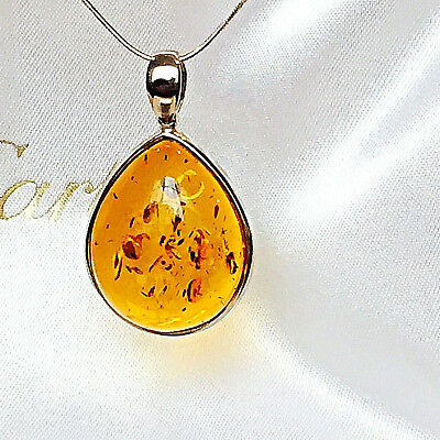 Russian Baltic Amber Necklace Natural Butterscotch Egg Yolk Vintage Polish 老琥珀