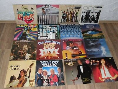 LP Sammlung Rock & Pop  52 LP`s