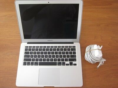 "Apple MacBook Air 13.3"" Intel i5 Laptop, RAM 4GB, Hard drive 256GB - 2013 Model"