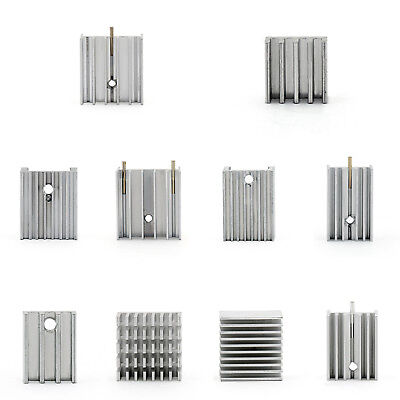 Small HeatSink Radiator For Power Transistor/MOSFET/IC TO-3/TO-126/TO-220  AU