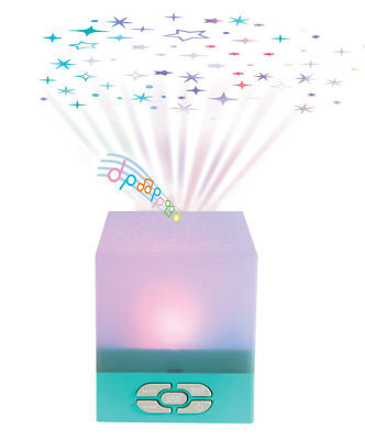 Playette Star Glow Cube Star Projector - playing soothing lullabies,,