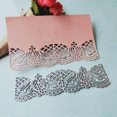 Lace Edge Frame Cutting Dies Stencil DIY Scrapbooking Envelope Paper Card Decor