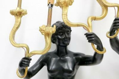 Pair of French Empire Dore Bronze Sconces Lot 1