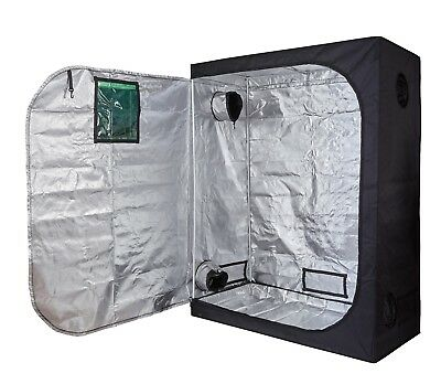 600D Mylar 60''x32''x80'' Grow Tent Room for Hydroponics Indoor Plant Growing