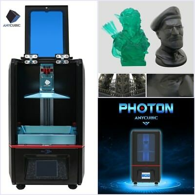 AU STOCK ANYCUBIC 3D Printer Photon UV Resin SLA DLP High Precision Touch Screen