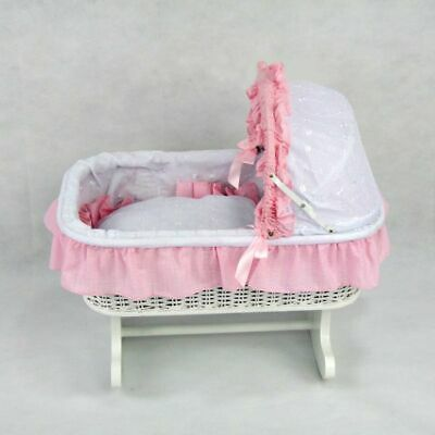 Regal Doll Carriages Susan Rocking Bed