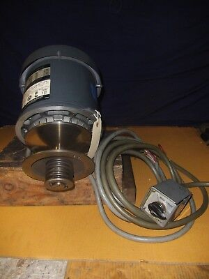 Bridgeport 2Hp 3Ph 2J-Head Spindle Drive Motor W/pulley & Fwd/rev Switch