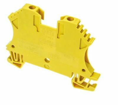 Weidmuller Feed Through Terminal Block, WDU Series , 2.5mm², 800 V, 32A -Pack:10