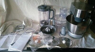 Kenwood KM280 Mixer with Liquidiser and Food Processor Attachments
