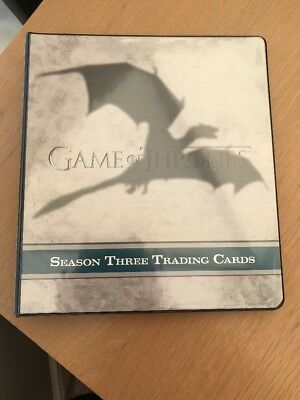 Game Of Thrones Season 3 Trading Cards
