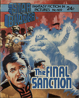 The Final Sanction,starblazer Space Fiction Adventure In Pictures,no.169,1986