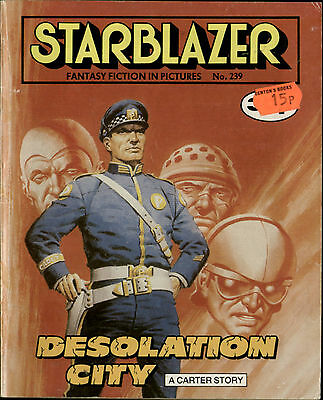 Desolation City,starblazer Fantasy Fiction In Pictures,no.239,1989,comic
