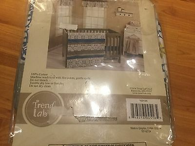 B20 NEW OPENED Trend Lab Monaco Window Valance CUTE , 60X15 IN FITS STANDARD