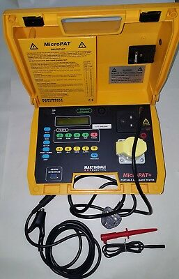 Martindale MicroPAT+ Portable Appliance PAT tester, Insulation, Earth Bond Test
