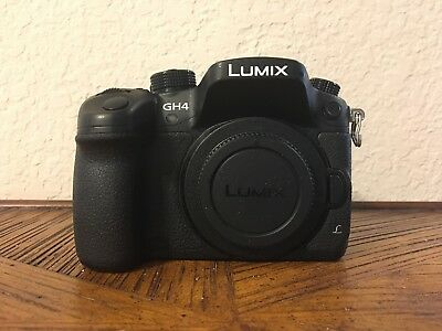 Panasonic LUMIX DMC-GH4 16.0MP Digital Camera, Body Only, EXCELLENT CONDITION!