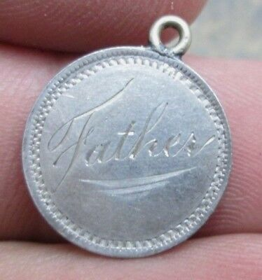 Canada Queen Victoria 5 Cent Silver Father Love Token No Reserve