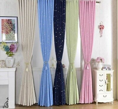 CLOTH CURTAINS FOR Kids Bedroom Living Rooms Blackout Drapes ...