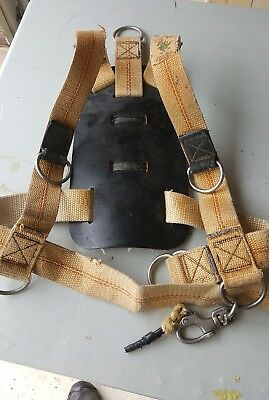 Tuff Gear commercial diving bail out harness standby harness
