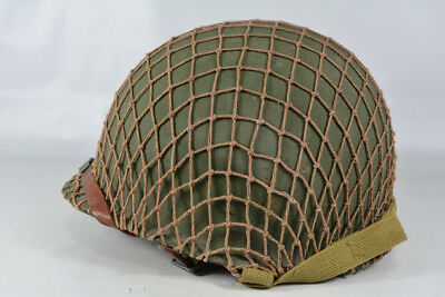WWII WW2 US Army M1 M1-C Paratrooper Helmet 101st 82nd Airborne Division