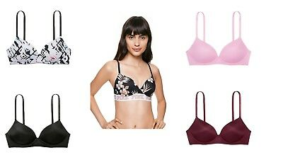 78201c72e6ee7 Victoria s Secret PINK WEAR EVERYWHERE PUSH-UP WIRELESS BRA (Choose Your  Size)