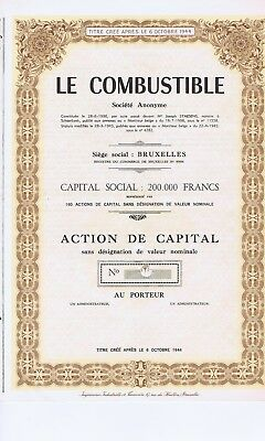 Le Combustible  1945