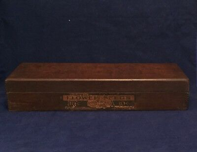 Antique Box D M Ferry & Co's Flower Seeds Dovetail Vtg Michigan General Store