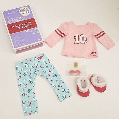 American Girl Holiday Penguin PJ's Pajamas for doll TRULY ME  - NEW in Box