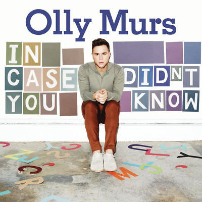 Olly Murs - In Case You Didn't Know (2011 Cd Album)