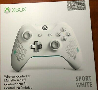 Microsoft Xbox One Wireless Controller, Sport White, Fast ship