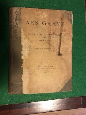 AES Grave A Study Of The Cast Coinage Of Rome And Central Italy - RARE
