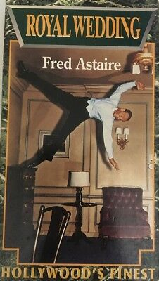 SHIPS N 24 HRS-Royal Wedding(VHS 1991)Fred Astaire-TESTED-VERY RARE VINTAGE