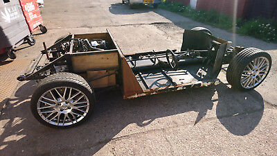 KIT CAR CHASSIS Project, Mid Engine Alfa Romeo