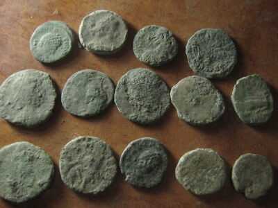 Ancient roman coins lot 62