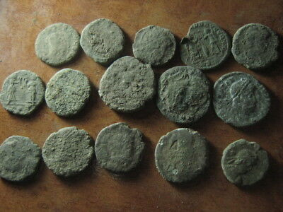 Ancient roman coins lot 63