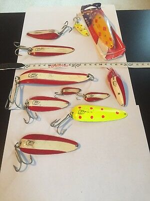 Nice Lot Daredevle Fishing Spoon Daredevil