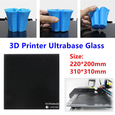 ANYCUBIC 220/310mm Ultrabase Glass Square Platform For 3D Printer Heated Bed